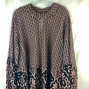 Lane Bryant Size 28 Lacey long sleeve top